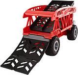 Hot Wheels Monster Truck Монстро-транспортер на 12 машинок автовоз перевозчик FYK13 Transporter with Space for, фото 5