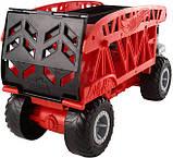 Hot Wheels Monster Truck Монстро-транспортер на 12 машинок автовоз перевозчик FYK13 Transporter with Space for, фото 6