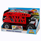 Hot Wheels Monster Truck Монстро-транспортер на 12 машинок автовоз перевозчик FYK13 Transporter with Space for, фото 7