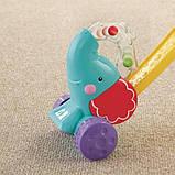 Fisher-Price Іграшка-каталка Слоник F8651 Pop n Push Elephant, фото 2