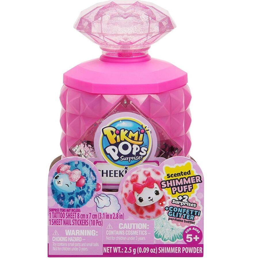 Pikmi Pops S5 мягкая игрушка сюрприз Сверкай 75461 Cheeki Puffs