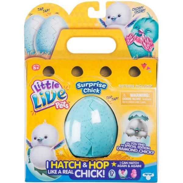 Little Live Pets S2 Інтерактивна іграшка Курча в яйці сюрприз 28427 Chick Single Pack