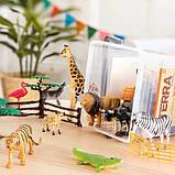 Terra Мир Джунглей фигурки 2770Z Jungle World Assorted Miniature Jungle Animal 60 Pc, фото 3