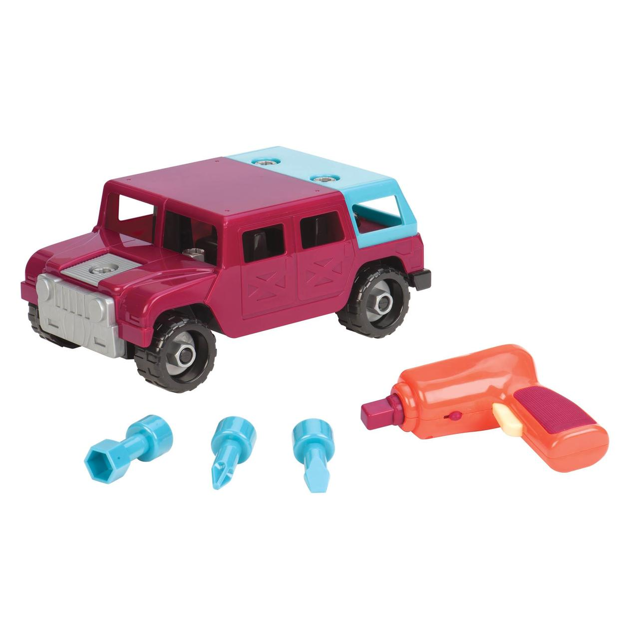 Battat Игрушка-конструктор разборной Армейский Грузовик Take-Apart Truck Car 4x4 Jeep