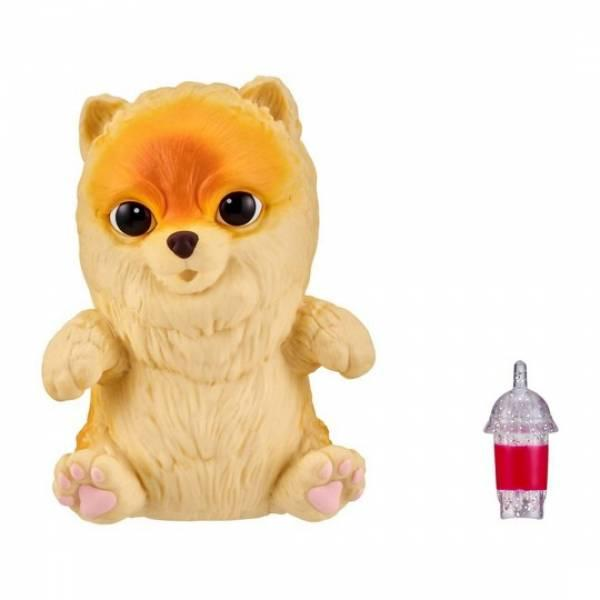Little Live Pets OMG Интерактивный щенок собачка сквиш шпиц померанц Pomeranian Squishy Puppy so Soft