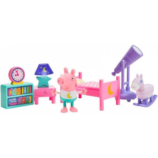 Peppa Pig Спальня Свинки Пеппы 0560 Little Rooms Goodnight Peppa Playset