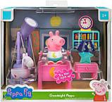 Peppa Pig Спальня Свинки Пеппы 0560 Little Rooms Goodnight Peppa Playset, фото 3