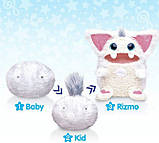 Tomy Ризмо интерактивный музыкальный питомец Снежок белый Rizmo Evolving Musical Friend Snow, фото 5