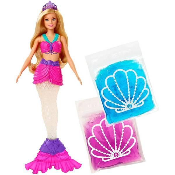 Barbie Барби Дримтопия русалочка и слайм GKT75 Dreamtopia Slime Mermaid
