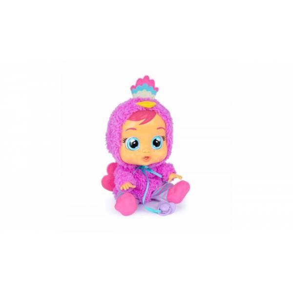 Cry Babies Интерактивная кукла пупс Плачущий младенец Лиззи павлин 91665IMV Lizzy Baby Doll