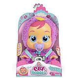 Cry Babies Интерактивная кукла пупс Плачущий младенец Лиззи павлин 91665IMV Lizzy Baby Doll, фото 3