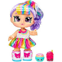 Kindi Kids Кукла пупс время друзей перекусить Радуга Кейт 50023 Rainbow Kate Snack Time Friends Pre-School