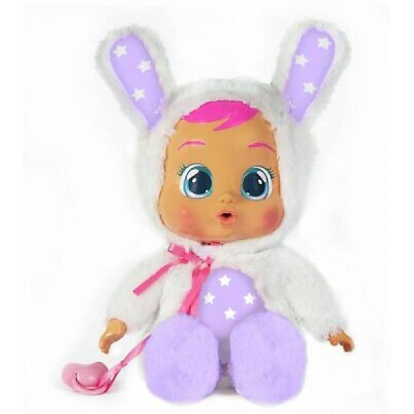Cry Babies Интерактивная кукла пупс Плачущий младенец Зайка Кони Спокойной ночи Goodnight Coney Doll