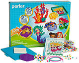 Perler Термомозаика Океан и Русалка 4000 бусинок 80-54311 Beads 3D Ocean and Mermaid Fuse Bead Kit, фото 2