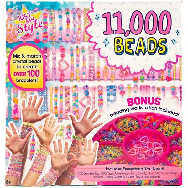 Horizon Just My Style Набор для браслетов 11, 000 бусин 57429F Beads Bracelet Making Kit
