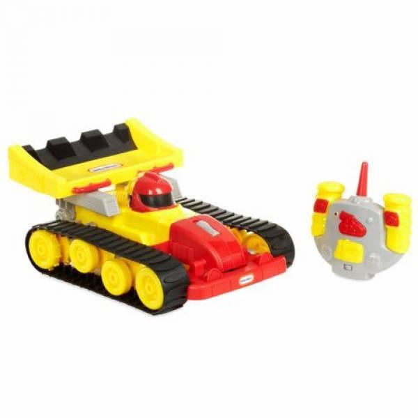 Little Tikes Автомобиль 2-в-1 с дистанционным управлением гонка бульдозер Dozer Racer 2-in-1 Rc Vehicle