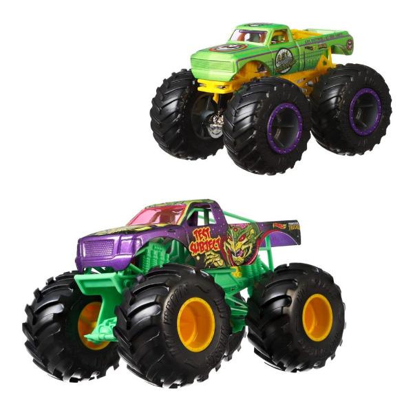 Hot Wheels Monster trucks Набор машинок внедорожников GJF67 1:64 Scale A51 Patrol Test Subject