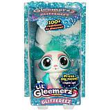 Mattel Lil' Gleemerz Інтерактивний вихованець блискучий GJH09 Glittereez Glitzette Figure, фото 3
