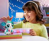 Mattel Lil' Gleemerz Інтерактивний вихованець блискучий GJH09 Glittereez Glitzette Figure, фото 6