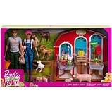 """Barbie Барбі і Кен набір """" ферма Солодкий сад Sweet Orchard Barn Farm Playset, фото 2"""