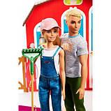 """Barbie Барбі і Кен набір """" ферма Солодкий сад Sweet Orchard Barn Farm Playset, фото 3"""