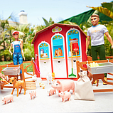 Barbie Барби и Кен набор ферма Сладкий сад Sweet Orchard Farm Barn Playset, фото 4