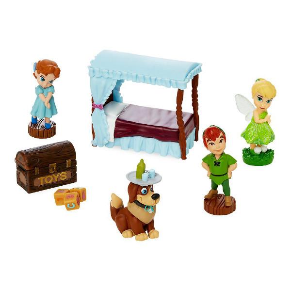 Disney Animators' игровой набор Мини аниматор Питер Пэн Венди Collection Littles Wendy Mini Set