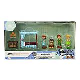 Disney Animators' игровой набор Мини аниматор Питер Пэн Венди Collection Littles Wendy Mini Set, фото 2