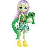 Enchantimals Энди Крокодилли и Марши с домиком Andie Alligator Marshy Alligator, фото 4