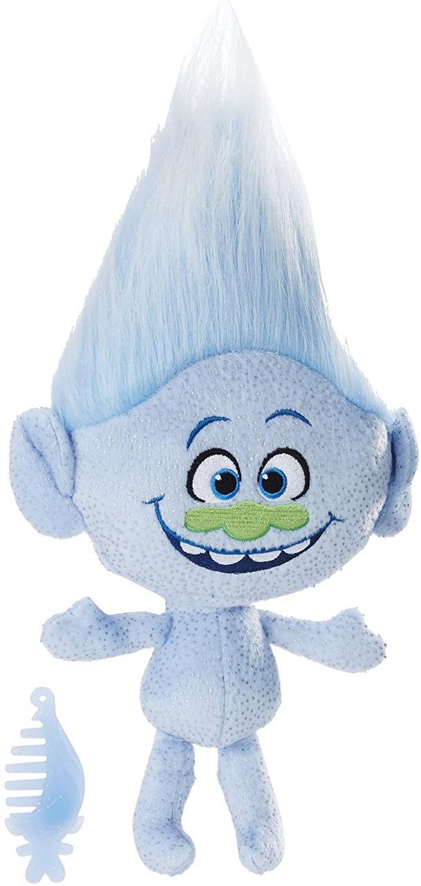DreamWorks Trolls М'яка іграшка музичний троль Алмаз B7774 Guy Diamond Talkin' Troll Plush Doll