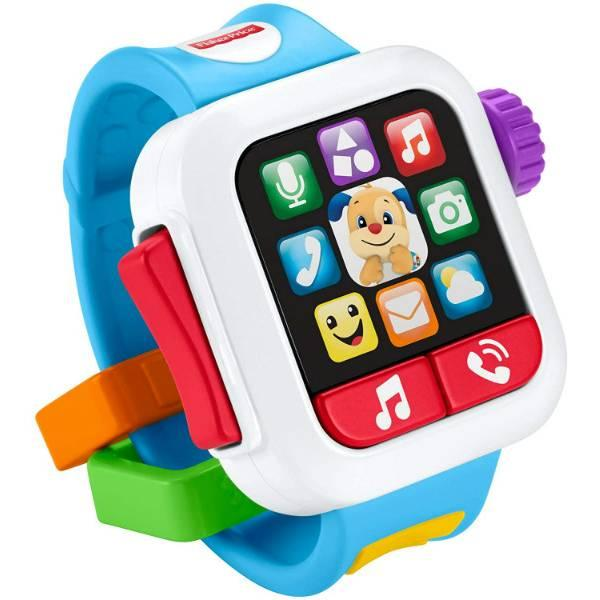 Fisher-Price Смейся и учись Умные часы щенок GJW17 Laugh Learn Time to Learn Smartwatch