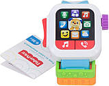 Fisher-Price Смейся и учись Умные часы щенок GJW17 Laugh Learn Time to Learn Smartwatch, фото 2