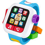 Fisher-Price Смейся и учись Умные часы щенок GJW17 Laugh Learn Time to Learn Smartwatch, фото 3