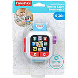 Fisher-Price Смейся и учись Умные часы щенок GJW17 Laugh Learn Time to Learn Smartwatch, фото 6