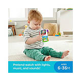 Fisher-Price Смейся и учись Умные часы щенок GJW17 Laugh Learn Time to Learn Smartwatch, фото 7