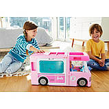 Barbie Барби кемпер трейлер дом мечты 3 в 1 2020 GHL93 Estate 3-In-1 Dreamcamper Vehicle With Pool Truck Boat, фото 3