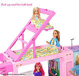 Barbie Барби кемпер трейлер дом мечты 3 в 1 2020 GHL93 Estate 3-In-1 Dreamcamper Vehicle With Pool Truck Boat, фото 4