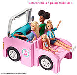 Barbie Барби кемпер трейлер дом мечты 3 в 1 2020 GHL93 Estate 3-In-1 Dreamcamper Vehicle With Pool Truck Boat, фото 6