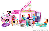 Barbie Барби кемпер трейлер дом мечты 3 в 1 2020 GHL93 Estate 3-In-1 Dreamcamper Vehicle With Pool Truck Boat, фото 7