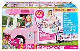 Barbie Барби кемпер трейлер дом мечты 3 в 1 2020 GHL93 Estate 3-In-1 Dreamcamper Vehicle With Pool Truck Boat, фото 8