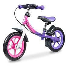 Lionelo Беговел велобіг від з ручним гальмом фіолетовий 51846 Dan Plus