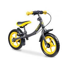 Lionelo Беговел велобіг від з ручним гальмом жовтий 51815 Dan Plus