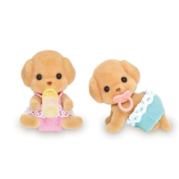 Sylvanian Families Calico Critters Малыши двойняшки пудели Poodle Twins Figures