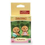 Sylvanian Families Calico Critters Малыши двойняшки пудели Poodle Twins Figures, фото 2