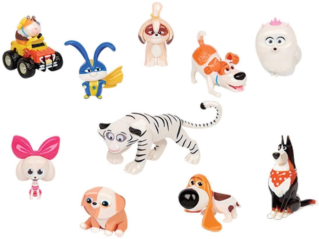 The Secret Life of Pets 2 Набір з фігурками Таємна життя домашніх тварин 2 Deluxe Collection 10 Pack