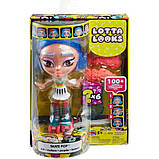 Mattel Лялька-конструктор Лотта Створи настрій GMW43 Lotta Looks Skate Pop Doll, фото 2