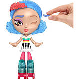Mattel Лялька-конструктор Лотта Створи настрій GMW43 Lotta Looks Skate Pop Doll, фото 3