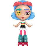 Mattel Лялька-конструктор Лотта Створи настрій GMW43 Lotta Looks Skate Pop Doll, фото 4