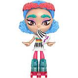 Mattel Лялька-конструктор Лотта Створи настрій GMW43 Lotta Looks Skate Pop Doll, фото 5