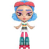 Mattel Лялька-конструктор Лотта Створи настрій GMW43 Lotta Looks Skate Pop Doll, фото 6